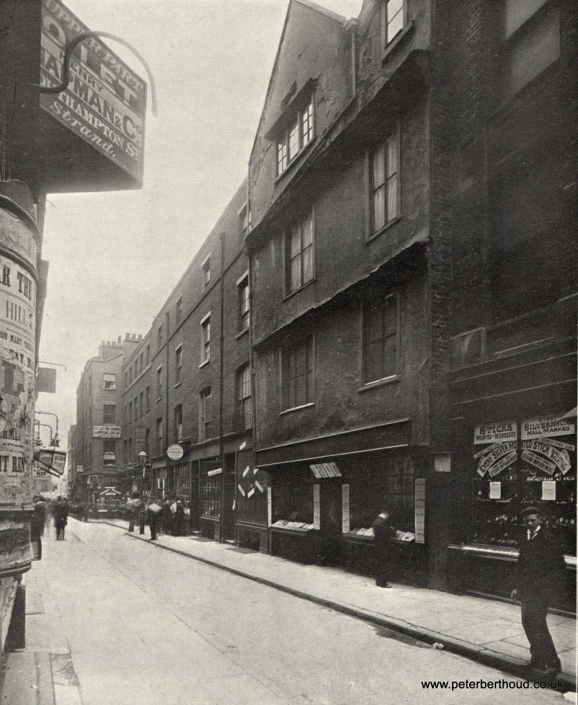Holywell Street (eastern end)