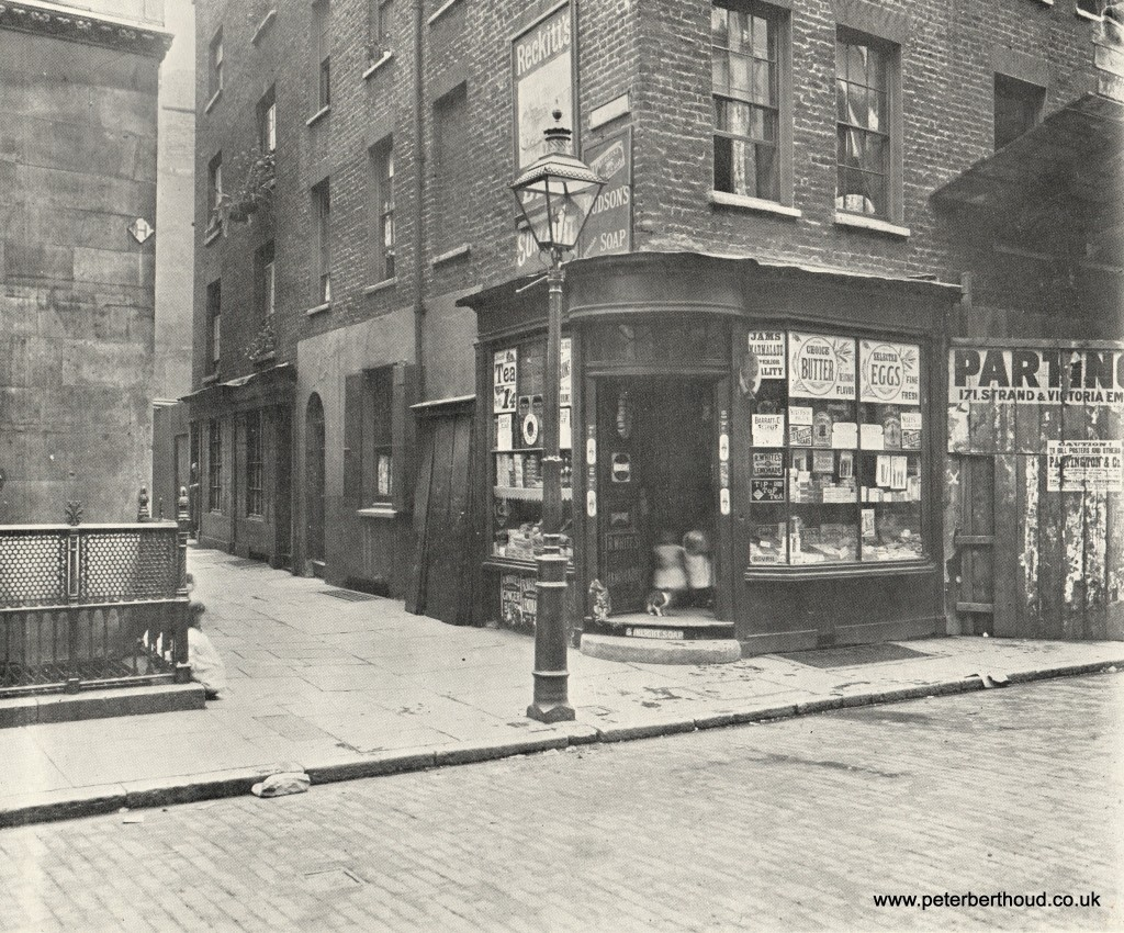 Houghton Street and New Inn Passage