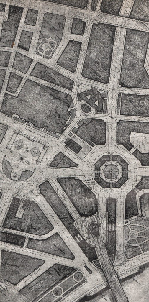 London Replanned Charing Cross and Trafalgar Square