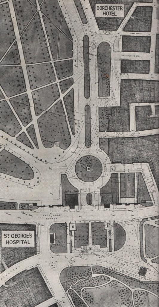 London Replanned Hyde Park Corner remodelled