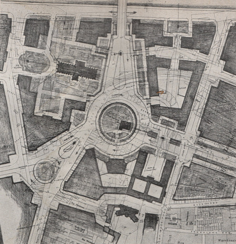 London Replanned Southwark Circus