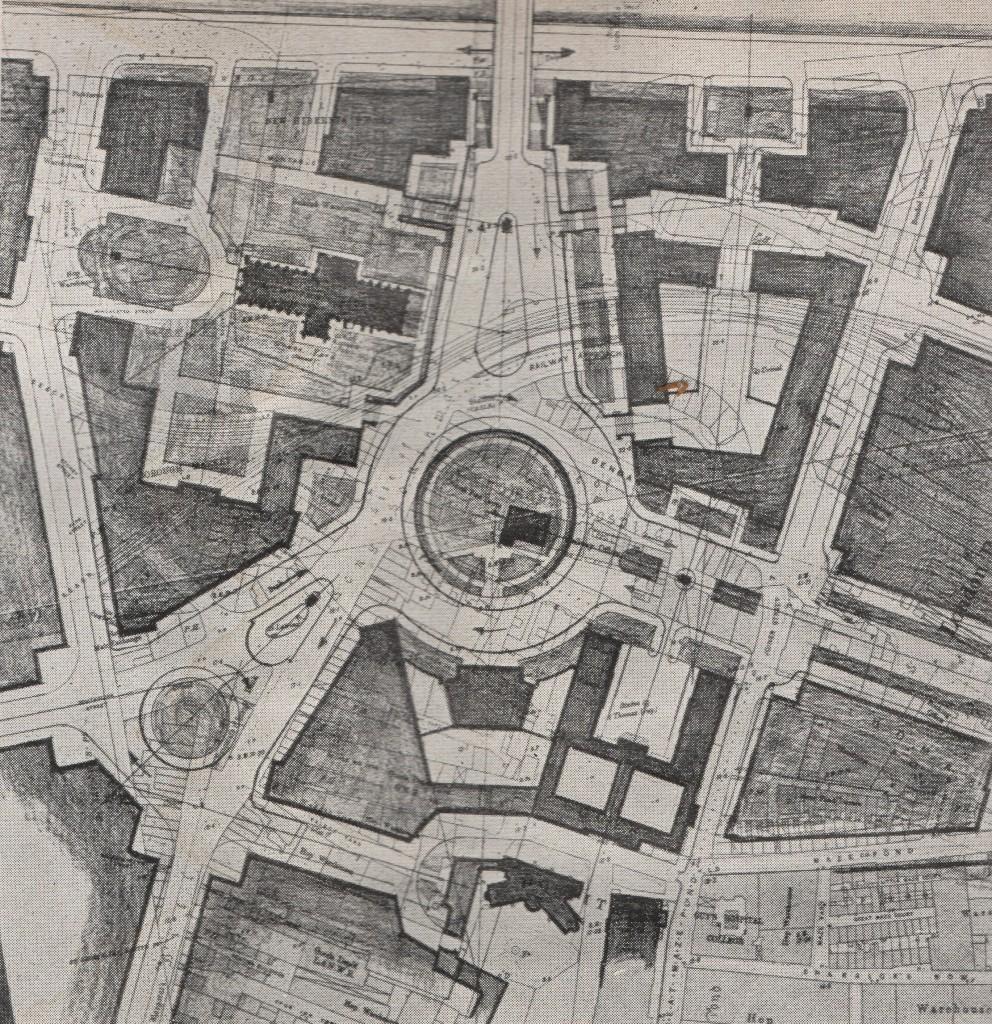 London Replanned Southwark Circus