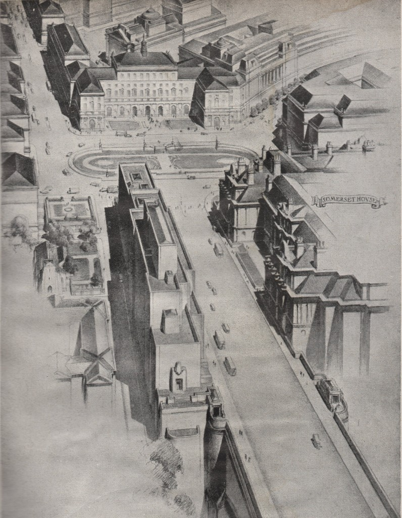 London Replanned Waterloo Bridge