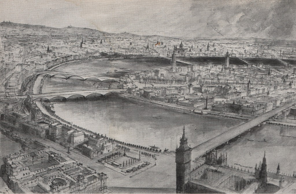 London Replanned Westminster to St Pauls