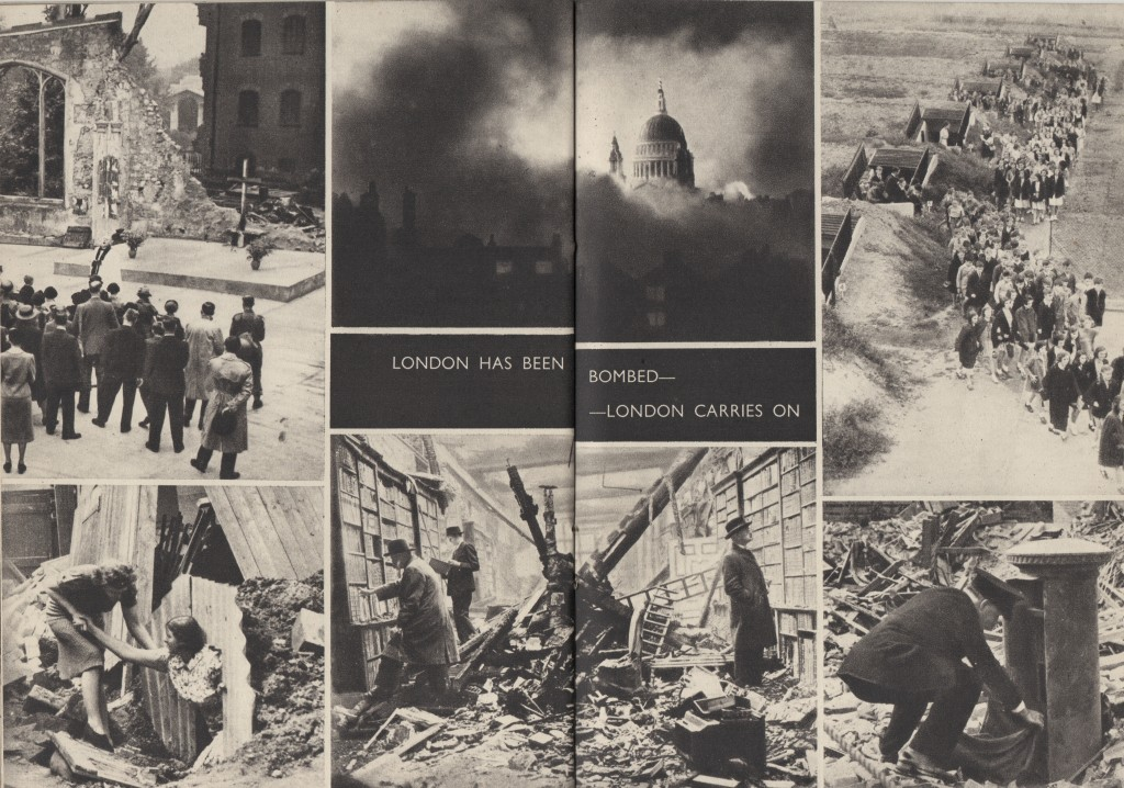 London has been bombed