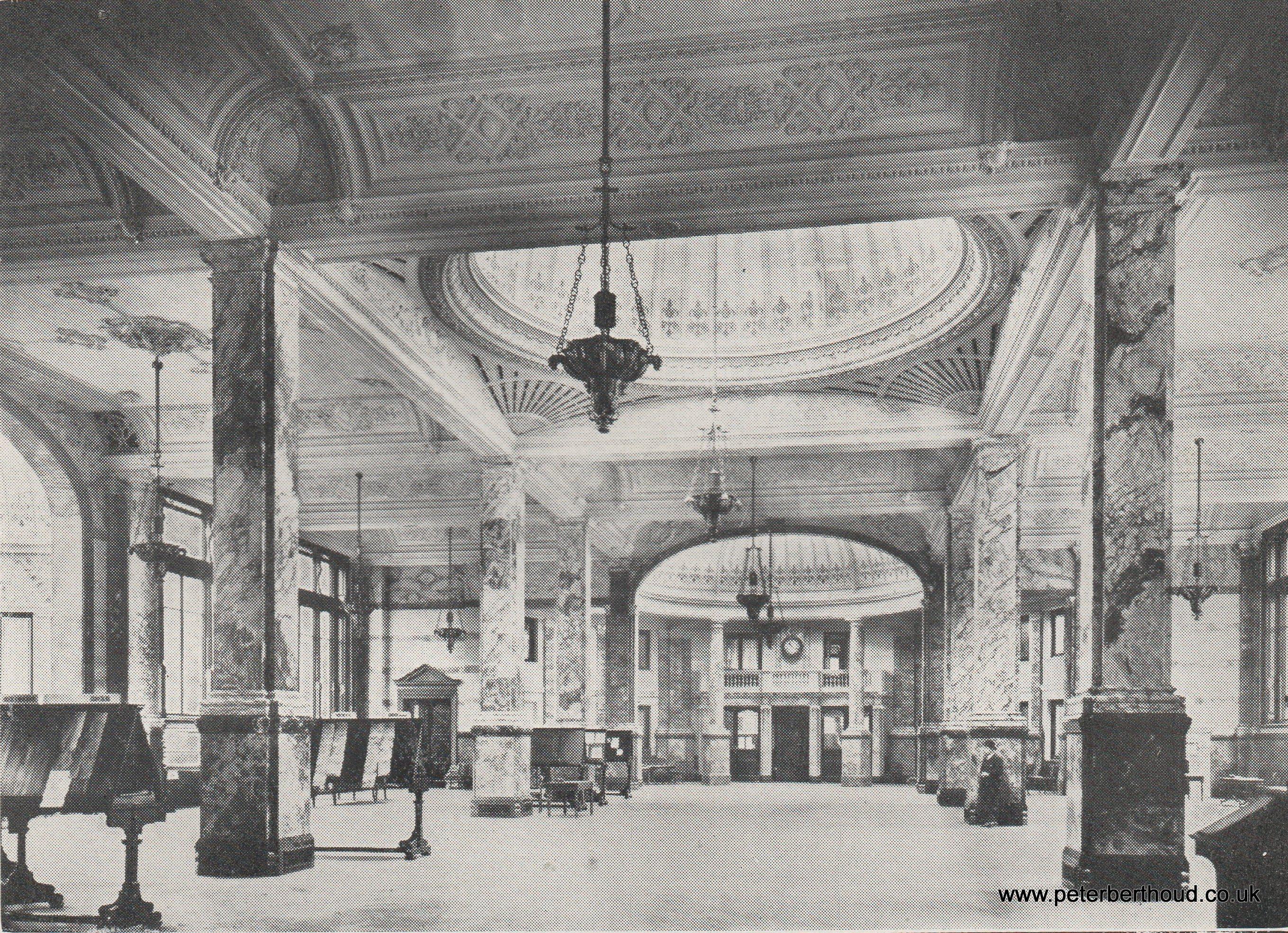 Baltic Exchange: Main Hall (1930)