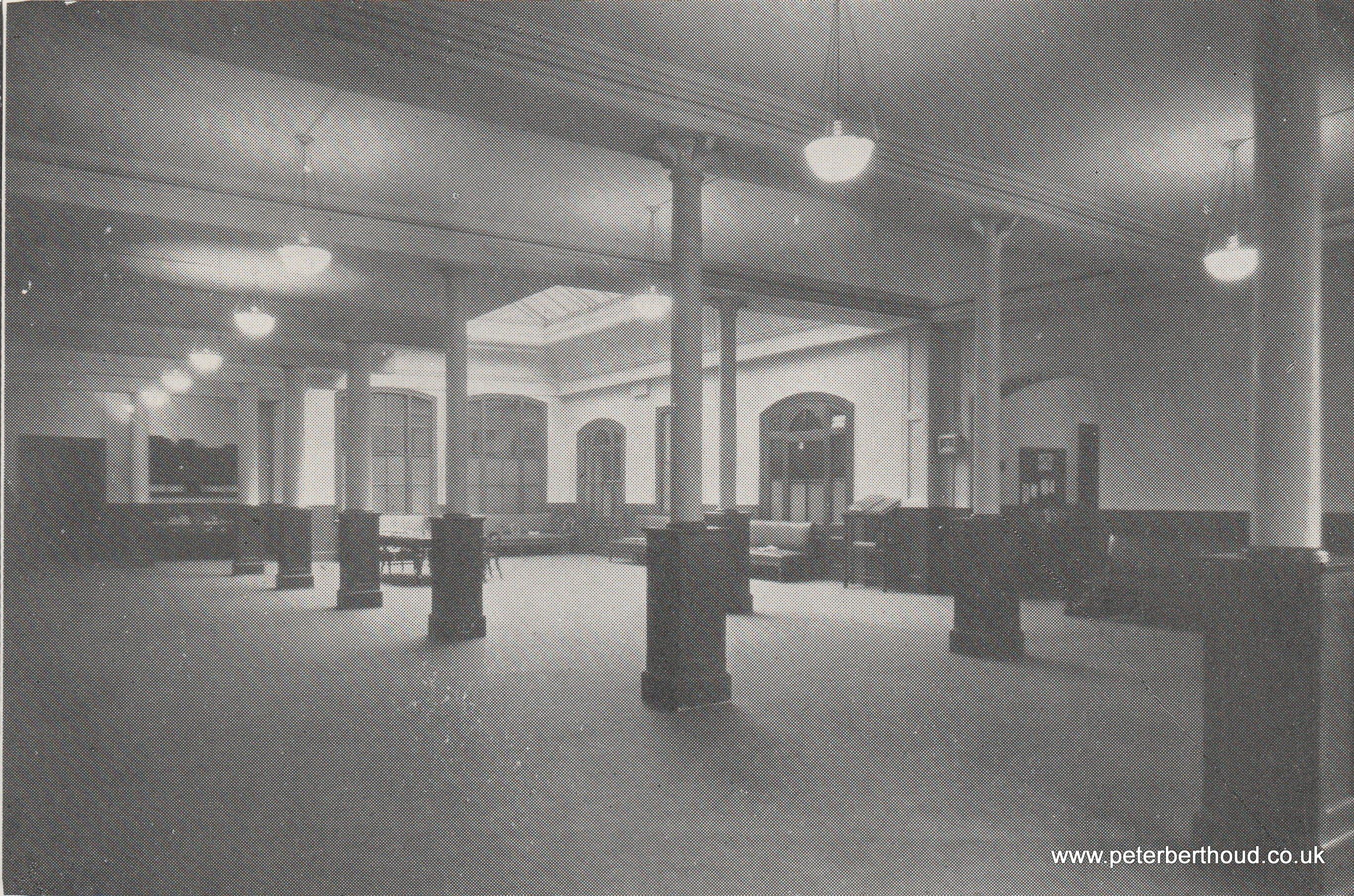 London Provision Exchange: Main Hall (1930)