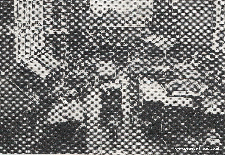 Covent Garden Market: Russell Street Approach (1930)