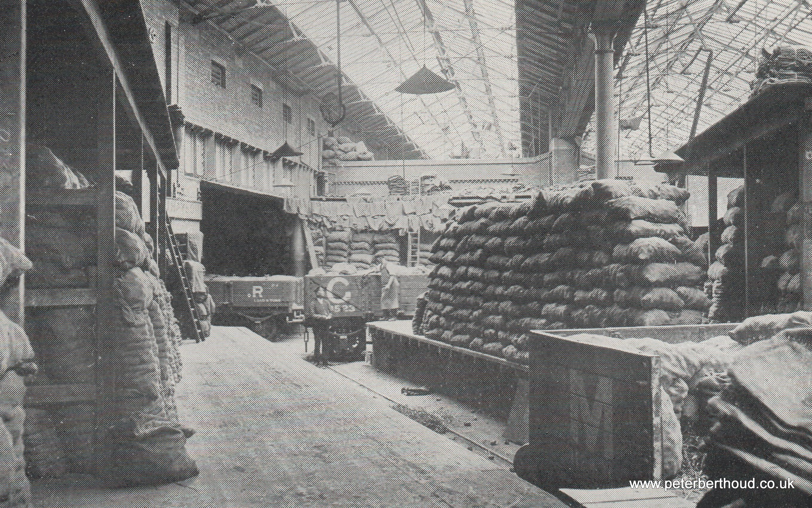Somers Town Potato Depot (1930)