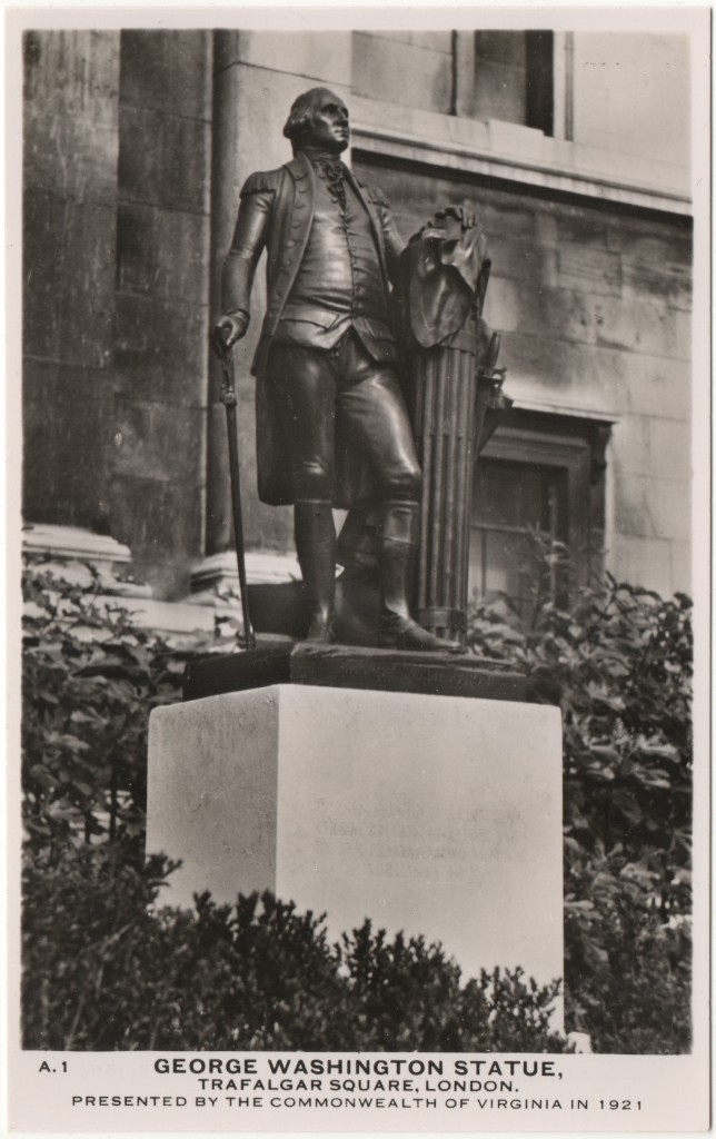 George Washington Statue London