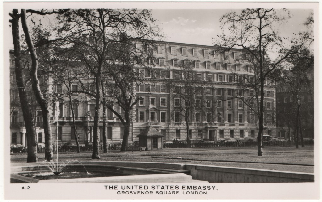 The United States Embassy Grosvenor Square London