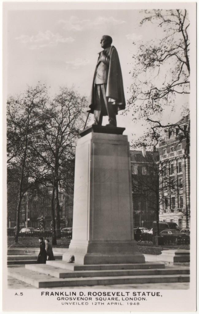 Franklin D. Roosevelt Statue London