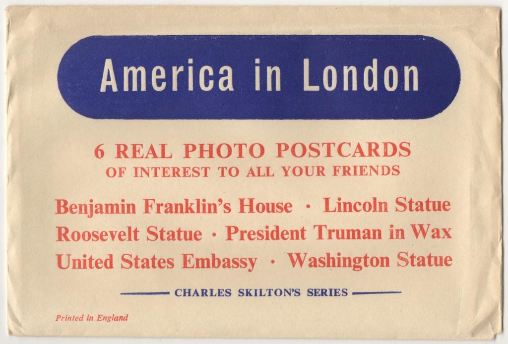 America in London Skilton's sights