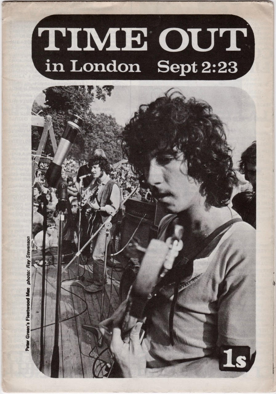 Time Out London 2 September 1968