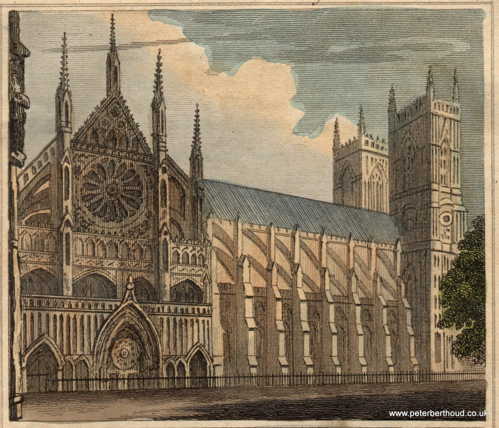 Westminster Abbey 1824