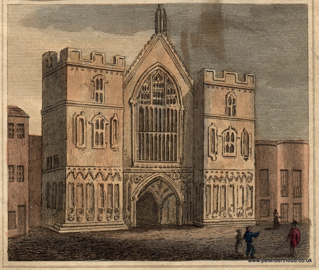 Westminster Hall 1824