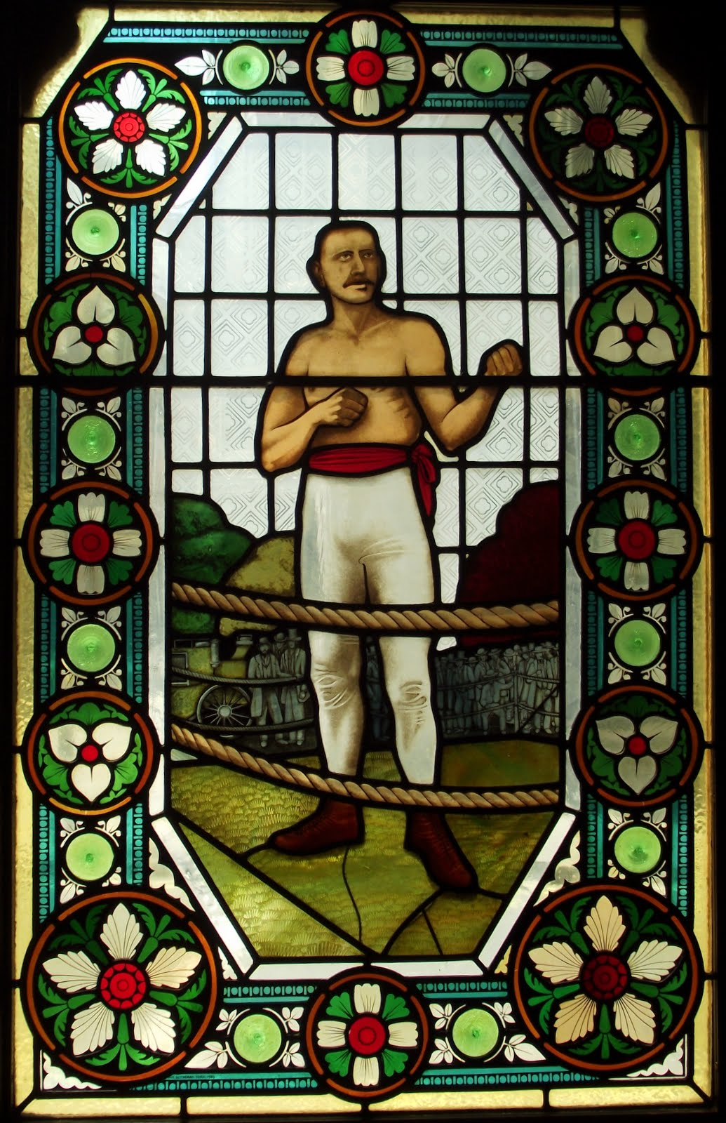 """Bob Fitzsimmons """"Ruby Robert"""" is the only Englishman to win three world titles at different weights 1862-1917"""