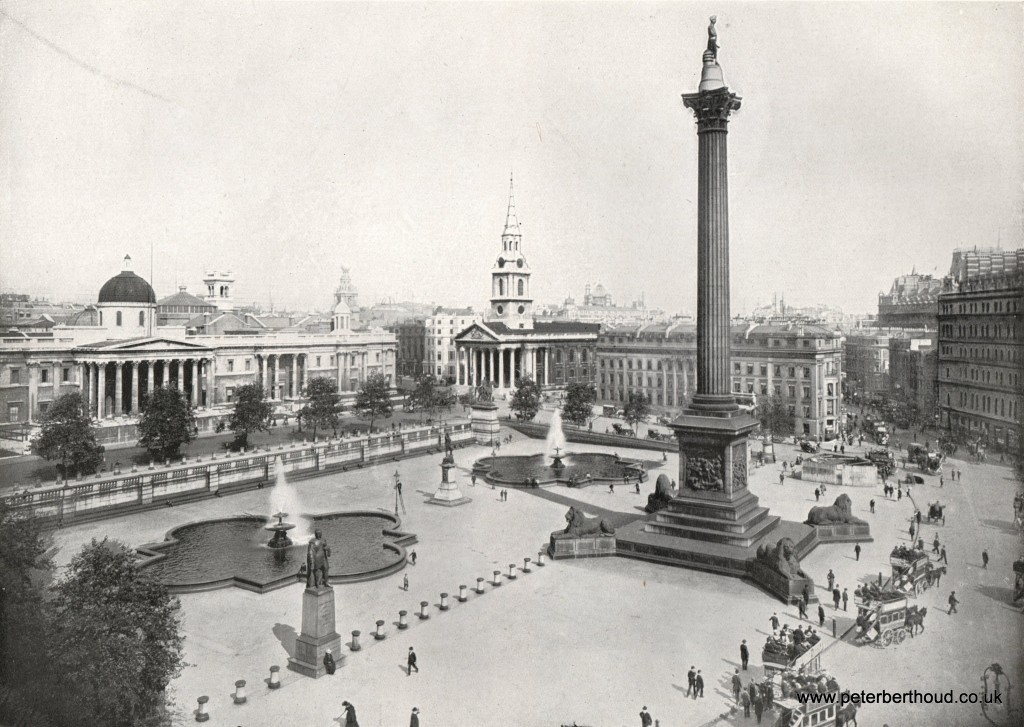 Edwardian London Trafalgar Square