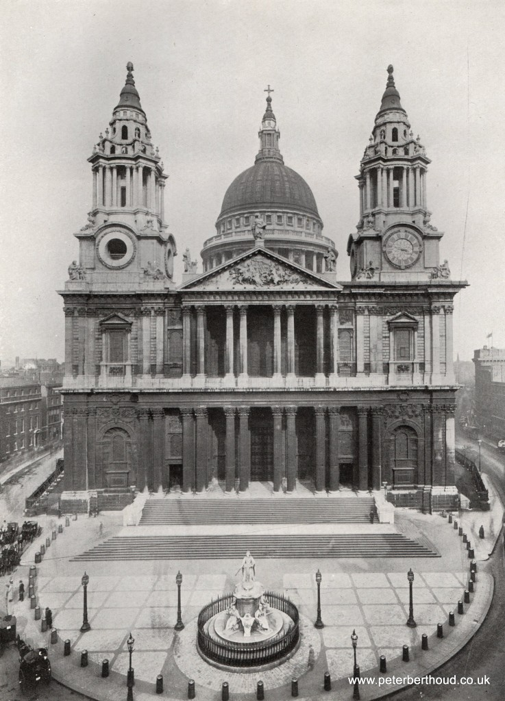 Edwardian London St Paul's Cathedral