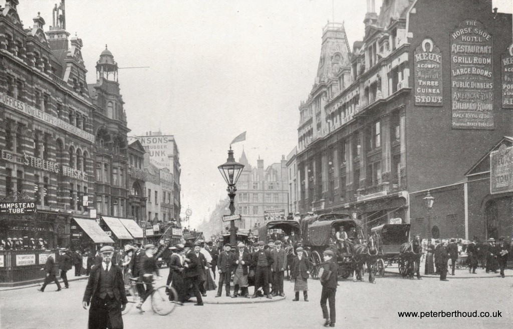 Edwardian London Tottenham Court Road