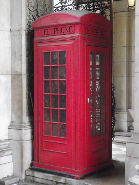 K2 prototype telephone box by Giles Gilbert Scott at the Royal Academy London