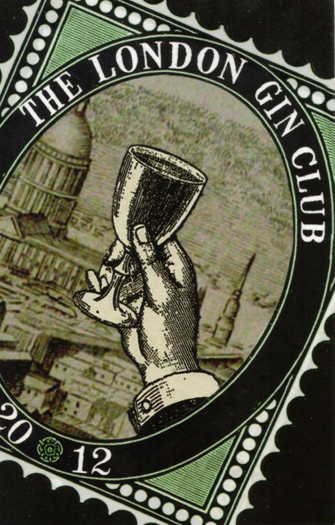 London Gin Club membership card