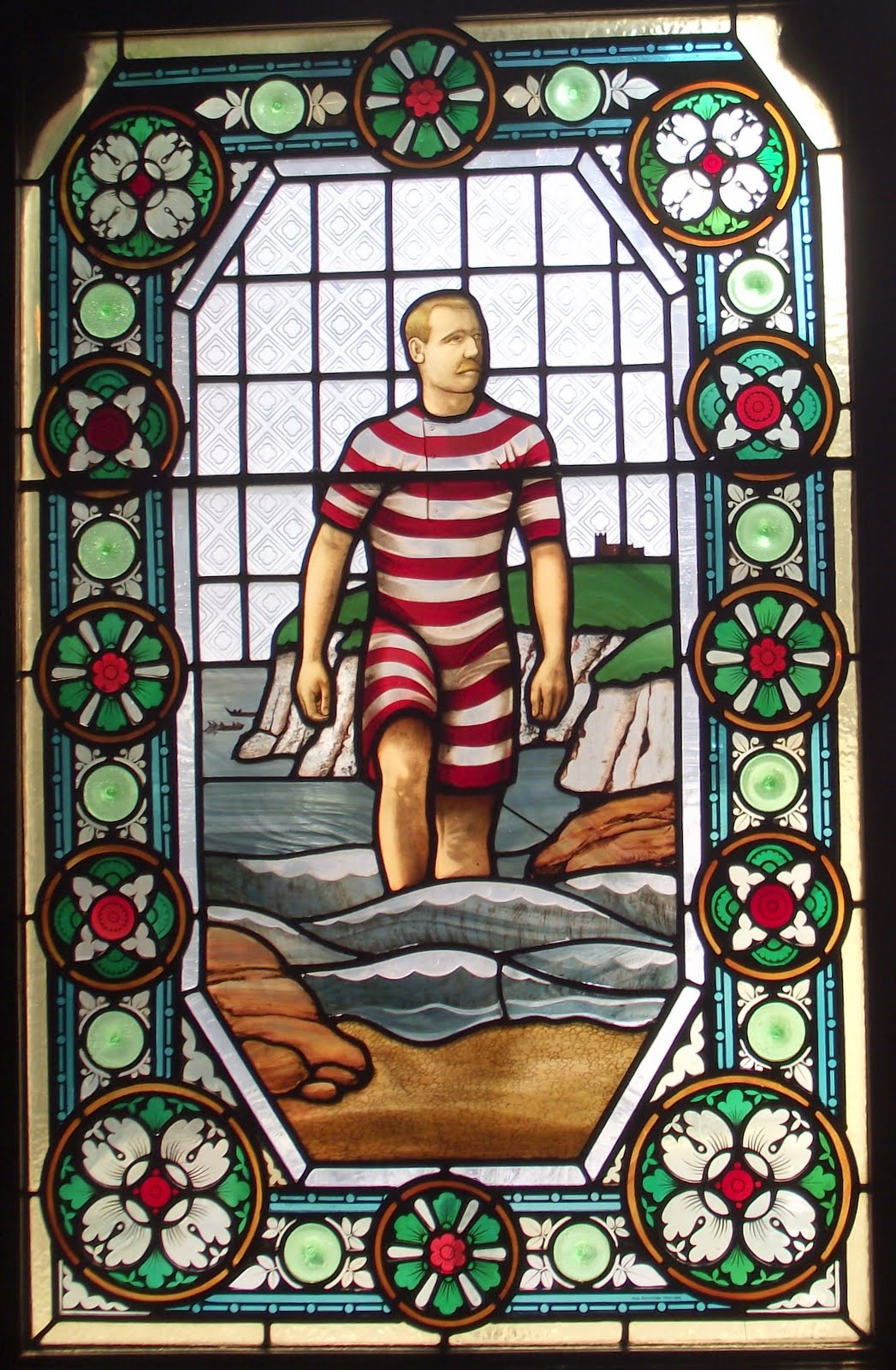 Matthew Webb was the first to swim the English Channel (30 miles in 21 hours) he died swimming across Niagara Falls