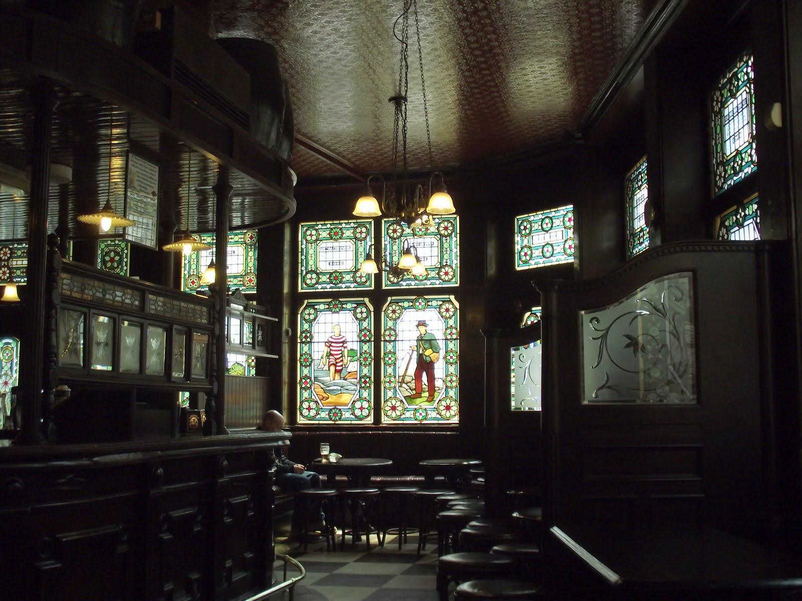 The Champion pub Fitzrovia interior