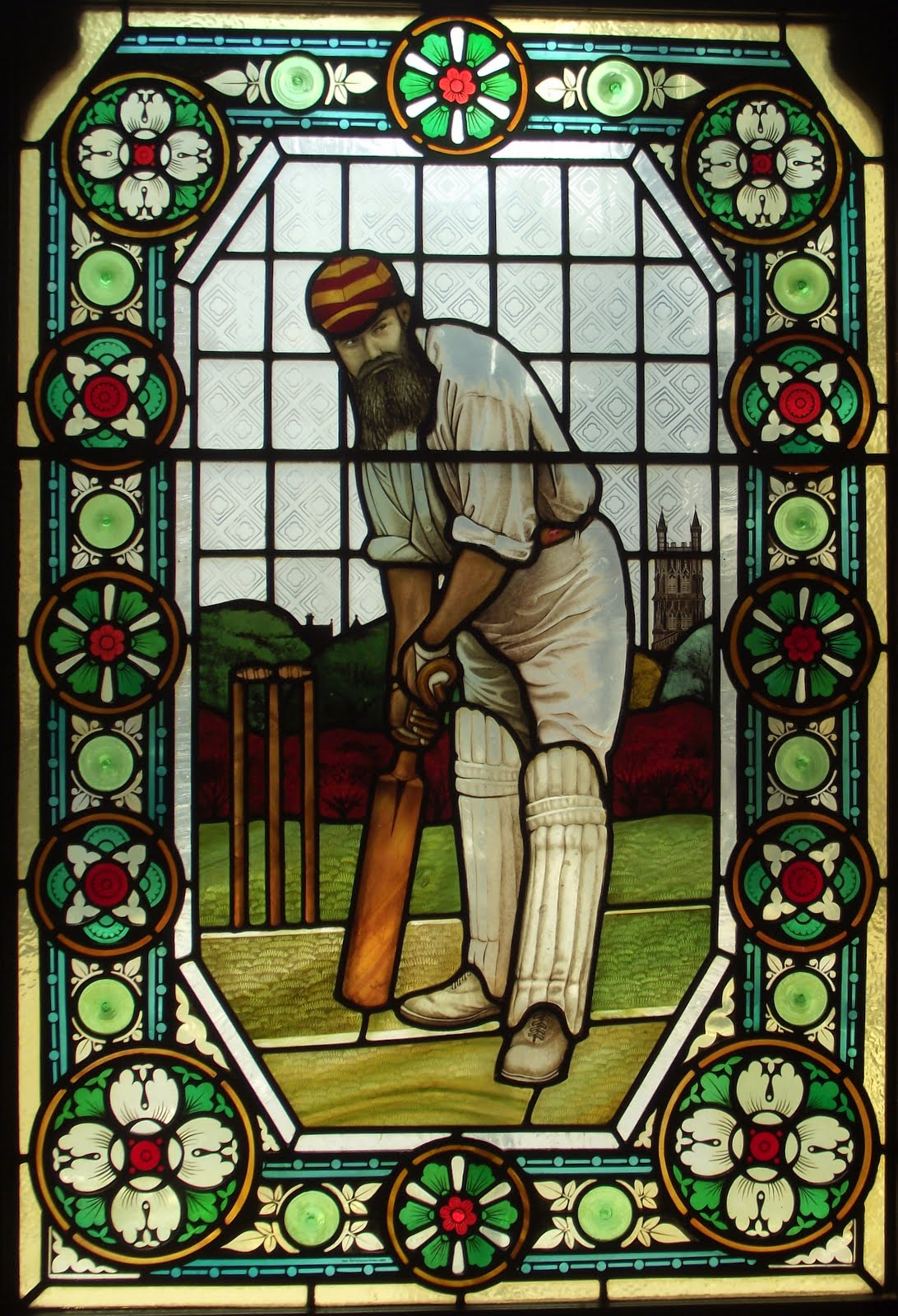 WG Grace a legendary figure whose all round ability and enthusiasm dominated cricket for over thirty years
