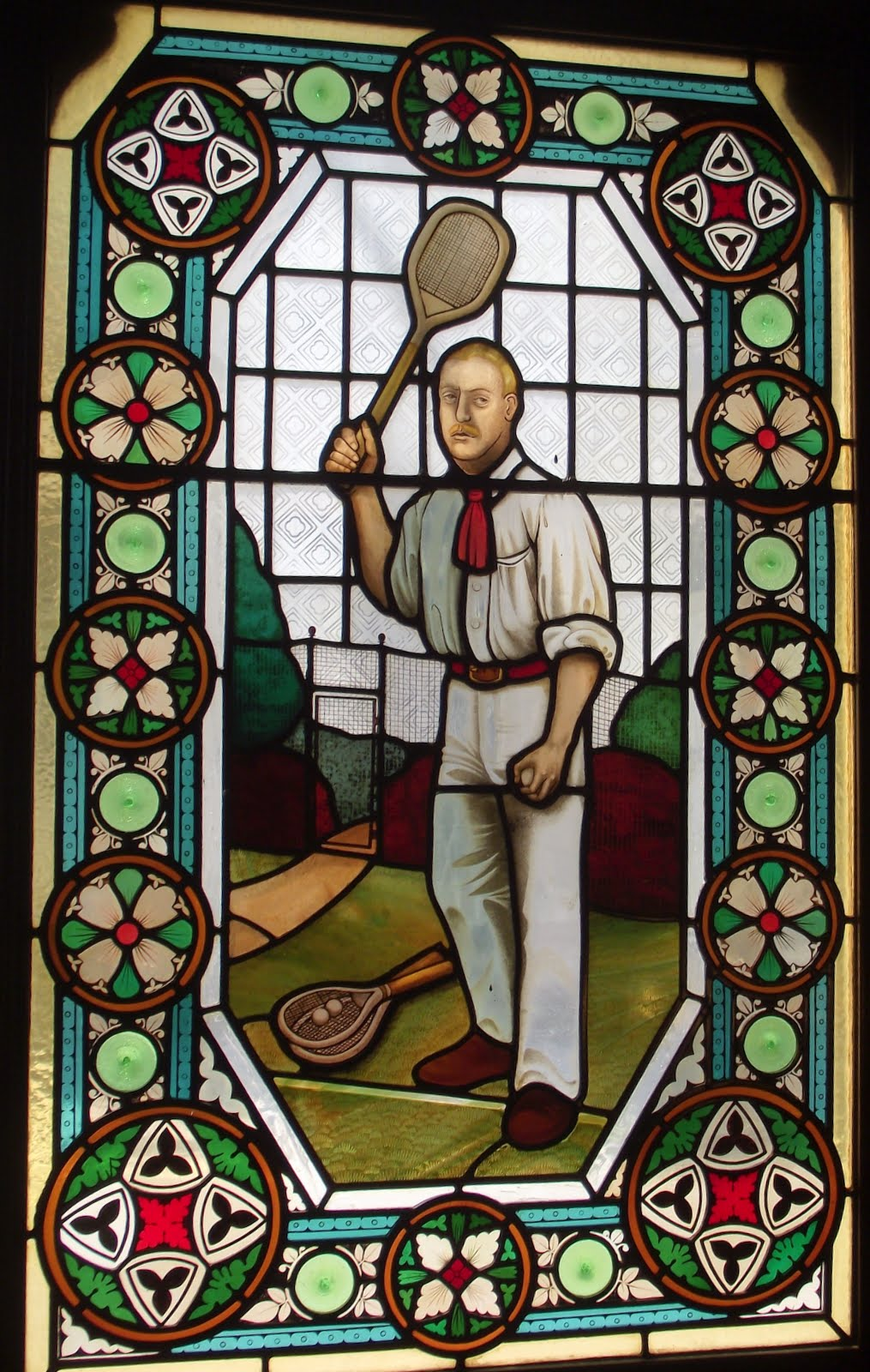 William Renshaw winner of seven singles and seven doubles cups, he with his brother, made Lawn Tennis into a sport